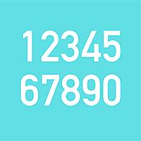 Colorful Clock - ultra simple -