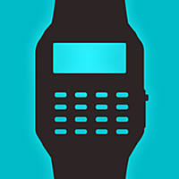 Geek Watch - Retro Calculator Watch