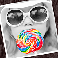 お洒落なフィルターで写真加工できるColorful!写メに白黒やモザイク、セピアで無料の画像編集できるカメラアプリ!
