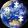 Seamless Earth 75億ピースの地球ジグソーパズル