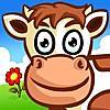 子供のための動物のパズル - 農場