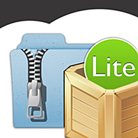iUnarchive Lite - Archive and File Manager with support for Dropbox, Box, Skydrive, SugarSync, WebDAV en FTP