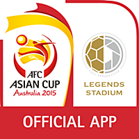 LEGENDS STADIUM with AFC アジアカップ 2015