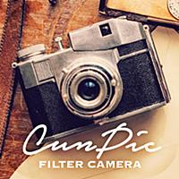 CunPic-おしゃれ写真加工&美肌カメラでプリクラみたいに自撮りが盛れる!無料の美肌&美白フィルターでかんたん画像編集!