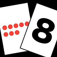 数を覚える かずタッチ-ビノバ(幼児教育)-赤玉を数えて右脳を刺激しながら、数字を理解!算数の第一歩としての教材!知育にどうぞ!