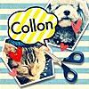 ふきだし&切り抜きコラージュ Collon(コロン)