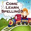 Come Learn Spellings - Free - 150 spelling words for preschool, kindergarten, 1st and 2nd grade kids to learn