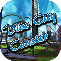 Dive City Rollercoaster