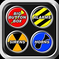 Big Button Box: アラーム・サイレン・クラクション - パトカー  サイレン 音 素材, 車 クラクション 効果音, トラック の ホーン, 警察 サウンド エフェクト, 救急車, バイク, 不快, エア, 消防車 se