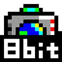 8bit風カメラ! リアルタイム加工の  8bit world camera