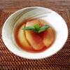 フライパンで作る、ほんのりピンクな桃のコンポート