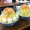 【東京】月島の「もんじゃストリート」でもんじゃ焼きを食べる。