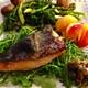 ✳︎ ケールの茎とマッシュルームの味噌漬け(覚書き)、焼き鮭白ワインマスタードディル風味、ブロッコリーラベとマッシュルームのロースト