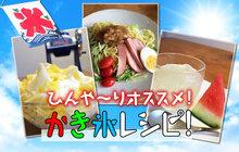 【かき氷の日】夏本番!オススメかき氷レシピ!
