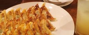 渋谷餃子の大皿焼き餃子20個という完全食一丁喰いの完全試合