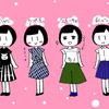 【私服の制服化】2016夏は4パターンでいきます!!【白シャツ・スカーチョ・ワンピ】