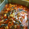 チキンとナスのトマト煮込み