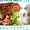 豚肉の野菜炒め弁当 10.21