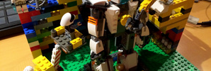 レゴでロボット整備工場を作ってみました