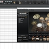 SONAR SI-Drum Kit の使い方2(ピアノロールビューでの入力)