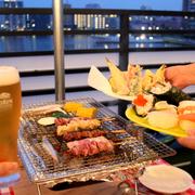 寿司・刺身・焼鳥・天ぷらが全部食べ放題!福岡のお寿司屋さんが手掛けるビアガーデンが驚愕コスパで震えが止まらない