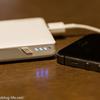 【薄型 大容量】薄くてスタイリッシュなモバイルバッテリー LERVING 10000mAh
