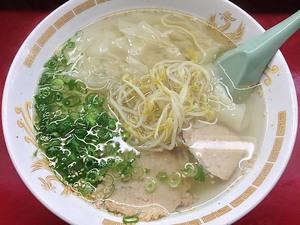 大阪行ったらまた食べたい。千日前「小洞天」のアッサリ塩ラーメン&カリカリ餃子