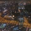 ドバイ、世界一の超高層ビル、ブルジュカリーファBurj Khalifa展望台At The Topを見学。夜はドバイファウンテン噴水ショーも見れる