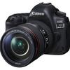 キヤノン、約3,040万画素になった定番フルサイズ機「EOS 5D Mark IV」を発売