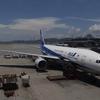 ANA NH860便 B777-200ER 近距離ビジネスクラス Business Class 搭乗記 香港HKG-羽田HND