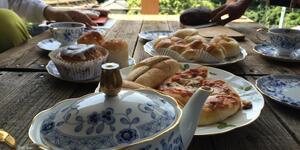 逗子のパン店Oven'sオーブンズで朝食に焼きたてパンが食べられる幸せ