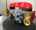 小さなスバル EJ20!3Dプリンターでつくったボクサーエンジン 動画