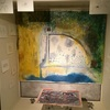 伏見屋邸二階の昔の下諏訪写真と、ninjinsanギャラリーの下諏訪アートに感動!