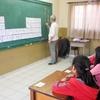 JICA シニアボランティア 猿渡先生の授業