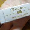 【色白美人】数量限定『ホワイトレーダー2016』パールホワイトのスリーブにゴールドの「Radar」が輝く!