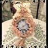 ★(42)ラブリーベアの壁掛け時計