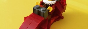 スターウォーズに出てきそうなレゴを作ってみた