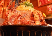 衝撃サービス「替え肉」で肉まみれ!「タケル」の特盛ステーキ丼940円で肉欲の限りを尽くそう