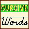 Cursive Words