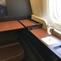 ポルトガル旅行記2019 パリ便JALファーストクラスに搭乗