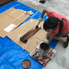 子供が遊ぶ屋外すべり台をDIYで制作してみる!組み立て編
