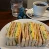 喫茶岩田でホットサンド