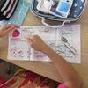 5年生:家庭科 「五」を縫う