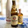 夫婦で乾杯!Erdinger Weißbierで幸せ、幸せ!