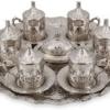 How a brass tea set can add antique touch?