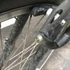 自転車のブレーキパッドを交換