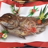"""人情寿司屋が手がけた """"鯛の姿焼き"""""""