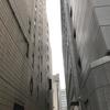 今日の大阪/静かな路地裏の空  Today's sky of quiet back alley, OSAKA  Date: Mar. 02, 2017