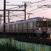 東海道を走る赤い電機