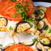 【オーブン不要】フライパンで超絶旨いナスとトマトのガーリックピザ